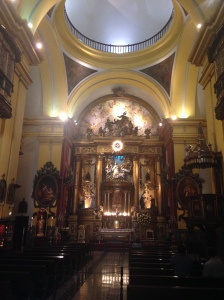 Parroquia del Sagrario which is next to the Cathedral